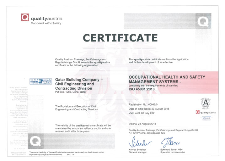 ISO 45001 2018 Occupational Health and Safety Management Systems